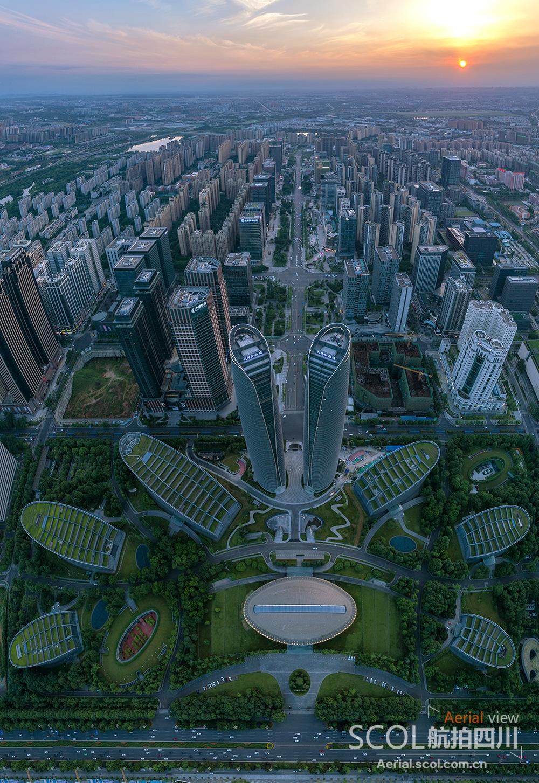 成都市高新区欧尚_俯瞰成都高新区 聆听城市强劲脉搏_行业_航拍四川_四川在线